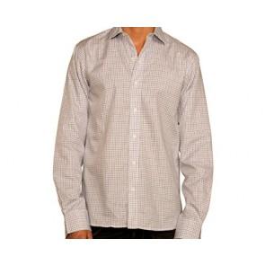 J Wingfield Men's Harrison Tattersall Blue or Green Spread Dress Shirt Small