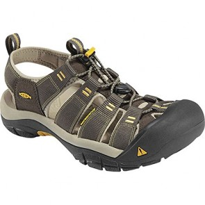 Keen Men's Newport H2 RAVEN /ALUMINUM Fabric Sandals 8 D(M) US