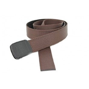 XL Hiker Web Belt Made in USA by Thomas Bates (X-Large, Brown)