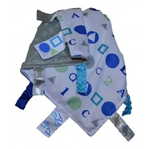 ABC Blue 123 Sensory Educational Lovey