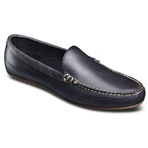 Allen Edmonds Men's Interstate 90 Slip-On Loafer, Navy Fargo, 7 D US