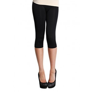 Nikibiki Capri Leggings with Free Bandeau and Shipping (One Size, Black)