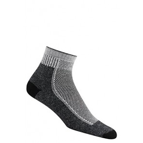 Wigwam Cool Lite Hiker Pro Quarter Socks Black MS 2-Pack