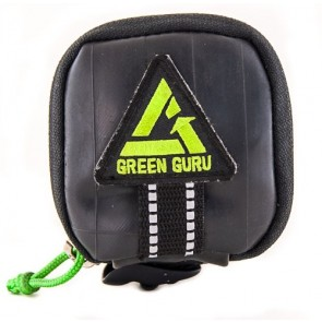 Green Guru Gear Clutch Upcycled Made in USA Bicycle Bike Saddle Bag