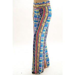 LA Palazzo Los Angeles Women's Fold-over Waist Palazzo Pants- Made in USA