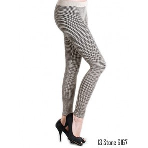 NiKiBiKi Women's Seamless Multi Style Long Leggings-Stone(#NB6167)