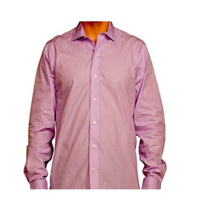J Wingfield Men's James Graph Check Lilac Spread - Dress Shirt