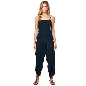 Popana Harem Yoga Palazzo Pants Pants Small in Black - Made In USA